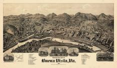 Buena Vista 1891 Bird's Eye View 24x40, Buena Vista 1891 Bird's Eye View